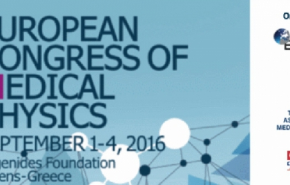 1st European Congress of Medical Physics 2016